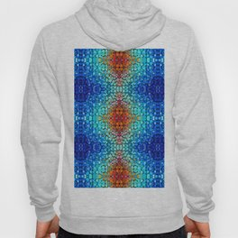 Inner Vision 2 Colorful Abstract by Sharon Cummings Hoody