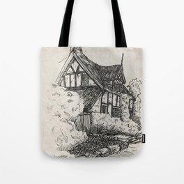 Cottage at Alderley Edge Tote Bag