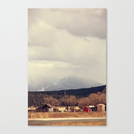 Flagstaff Canvas Print