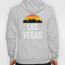 Sunset Skyline of Las Vegas NV Hoody