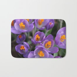 Bunch of Crocus Bath Mat