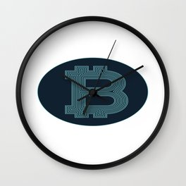 Bitcoin Token Wall Clock