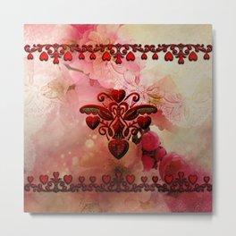 Wonderful hearts Metal Print