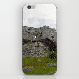 Nature Inhabits The Ruins iPhone Skin