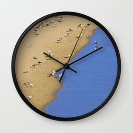 Else in Blue Wall Clock
