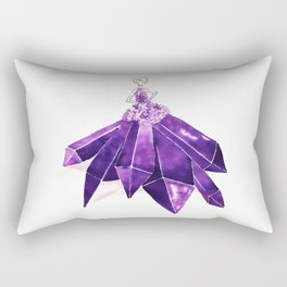 Lady Amethyst Rectangular Pillow