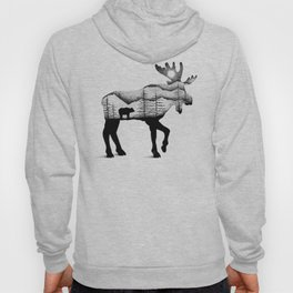 THE MOOSE AND THE BEAR Hoody