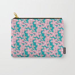 Frangipani 3 Carry-All Pouch