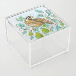 Partridge in a Pear Tree Acrylic Box