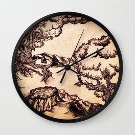 Clock Stump Wall Clock