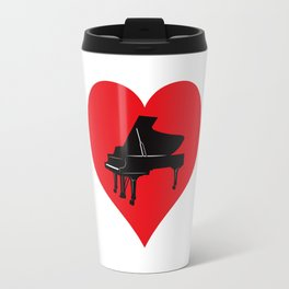 Love Piano Travel Mug