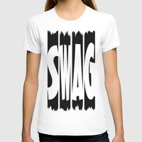 swag T-shirts featuring SWAG by Robleedesigns