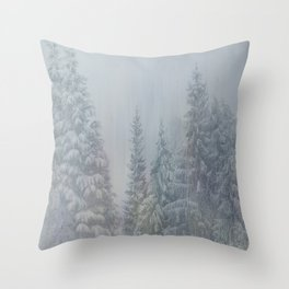 Magic Forest Throw Pillow