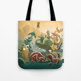 Goblins Drool, Fairies Rule! - Team Goblin Tote Bag