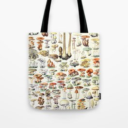 Adolphe Millot - Champignons B - French vintage poster Tote Bag