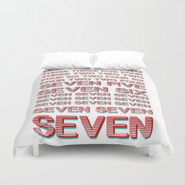 Monica teaches Chandler 7 erogenous zones in F.R.I.E.N.D.S. Duvet Cover
