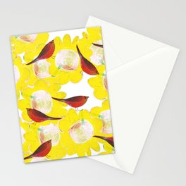 birds flying high Stationery Cards