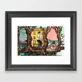 Quarter Life Crisis / YOLO Framed Art Print
