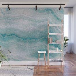 Sea green marble texture Wall Mural