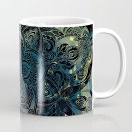 Flower mandala -night Coffee Mug