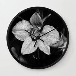 WILD ORCHID Wall Clock