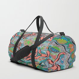 Quad Octopus Duffle Bag