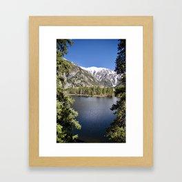 Lake in Colorado Framed Art Print