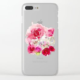 Tea 2 Clear iPhone Case