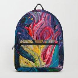 Bird Flower Backpack