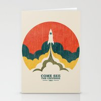 universe Stationery Cards featuring Come See The Universe by Picomodi