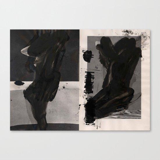 Akt 63 Canvas Print