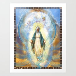 Divine Mother Art Print