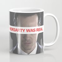 moriarty Mugs featuring Moriarty Was Real / Moriarty / IV by Earl of Grey