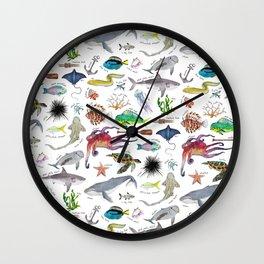 Under the Sea Alphabet Wall Clock