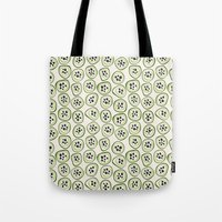 kiwi Tote Bags featuring Kiwi by Valendji
