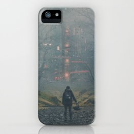 Digital Forest iPhone Case