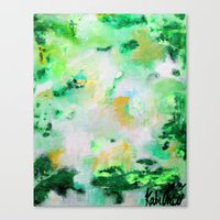 monet Canvas Prints featuring Monet by acrylikate