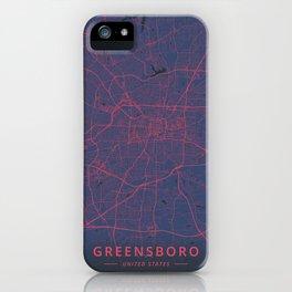 Greensboro, United States - Neon iPhone Case