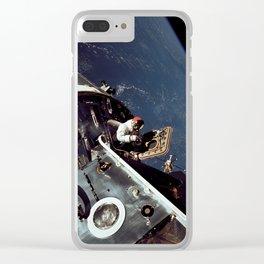 Apollo 9 - Spacewalk Clear iPhone Case