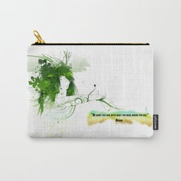 Women with design Carry-All Pouch