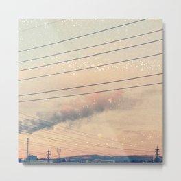 Urban Pastels Metal Print