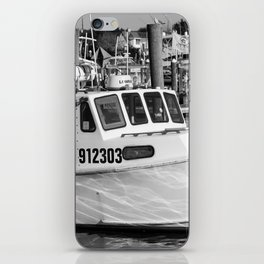 At The Harbor iPhone Skin