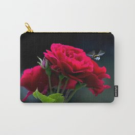 Red Rose Pollination Carry-All Pouch