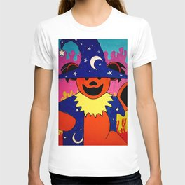 Wizard Dancing Bear Fan Art T-shirt