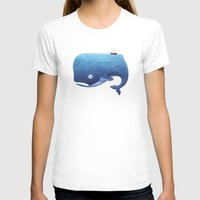 dick T-shirts featuring Moby Dick by Arianna Usai