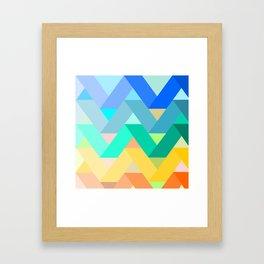 Chevron chevron Framed Art Print