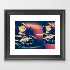 1955 Ford Crown Victoria Framed Art Print