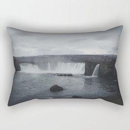 Miniature Niagara Falls Rectangular Pillow