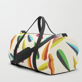 Feathers II Cascading Colors Duffle Bag