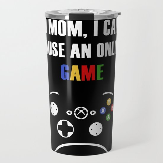 No mom, I can't pasue an online game by ericknavarro